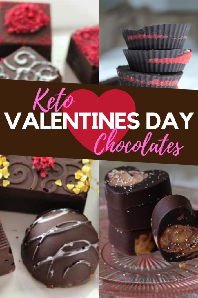 Keto Valentines Day Chocolates