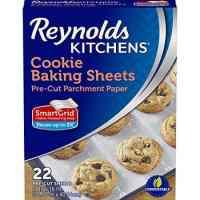 Reynolds Kitchens Pre-Cut Parchment Paper Baking Sheets - 12x16 Inch, 22 Count