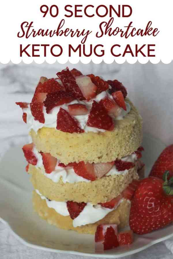 Easy Strawberry Shortcake :Low Carb Strawberry Shortcake in