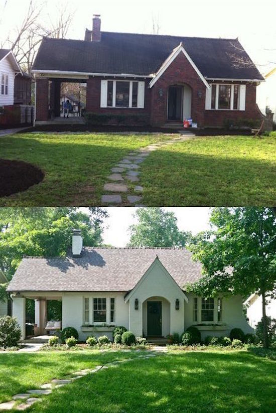 Ranch Style House Remodel Before And After Roselawnlutheran