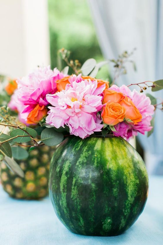 Summer Centerpieces Using Fruit For Vases Omg Lifestyle Blog