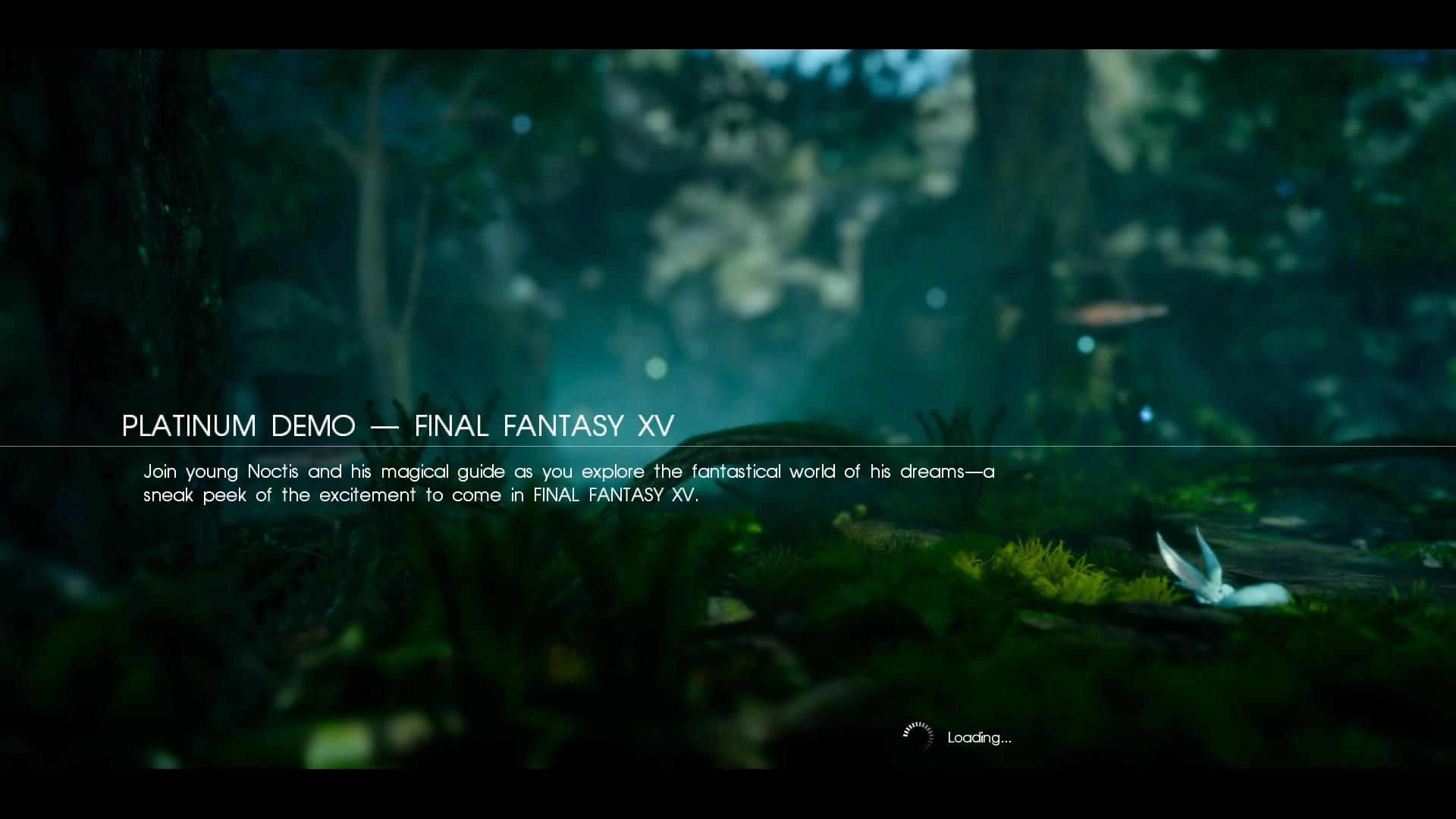 First Look: Final Fantasy XV Platinum Demo |