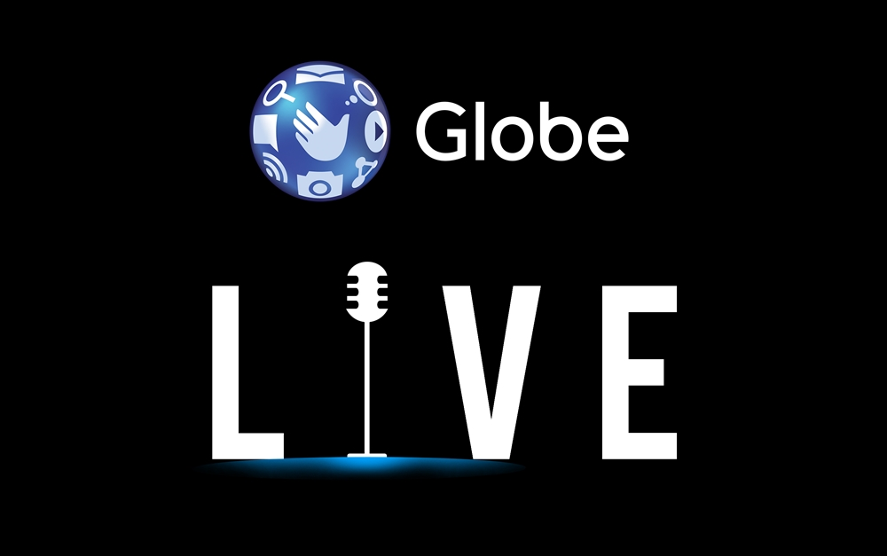 Globe Live official Logo_Negative