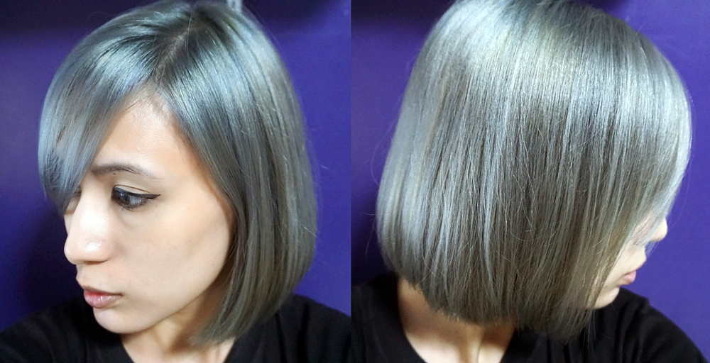 Omgluie Hair Dye Review Ion Color Brilliance In Titanium
