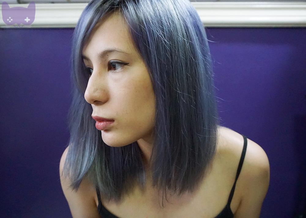 Omgluie Hair Dye Review Pravana Chromasilk Vivids In Silver