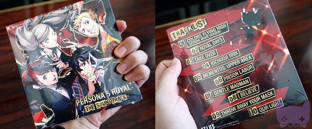 P5R Phantom Thieves Edition Art Book & OST