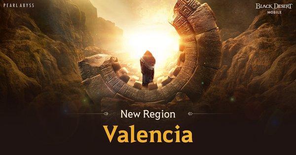 New Valencia Region Arrives in Black Desert Mobile