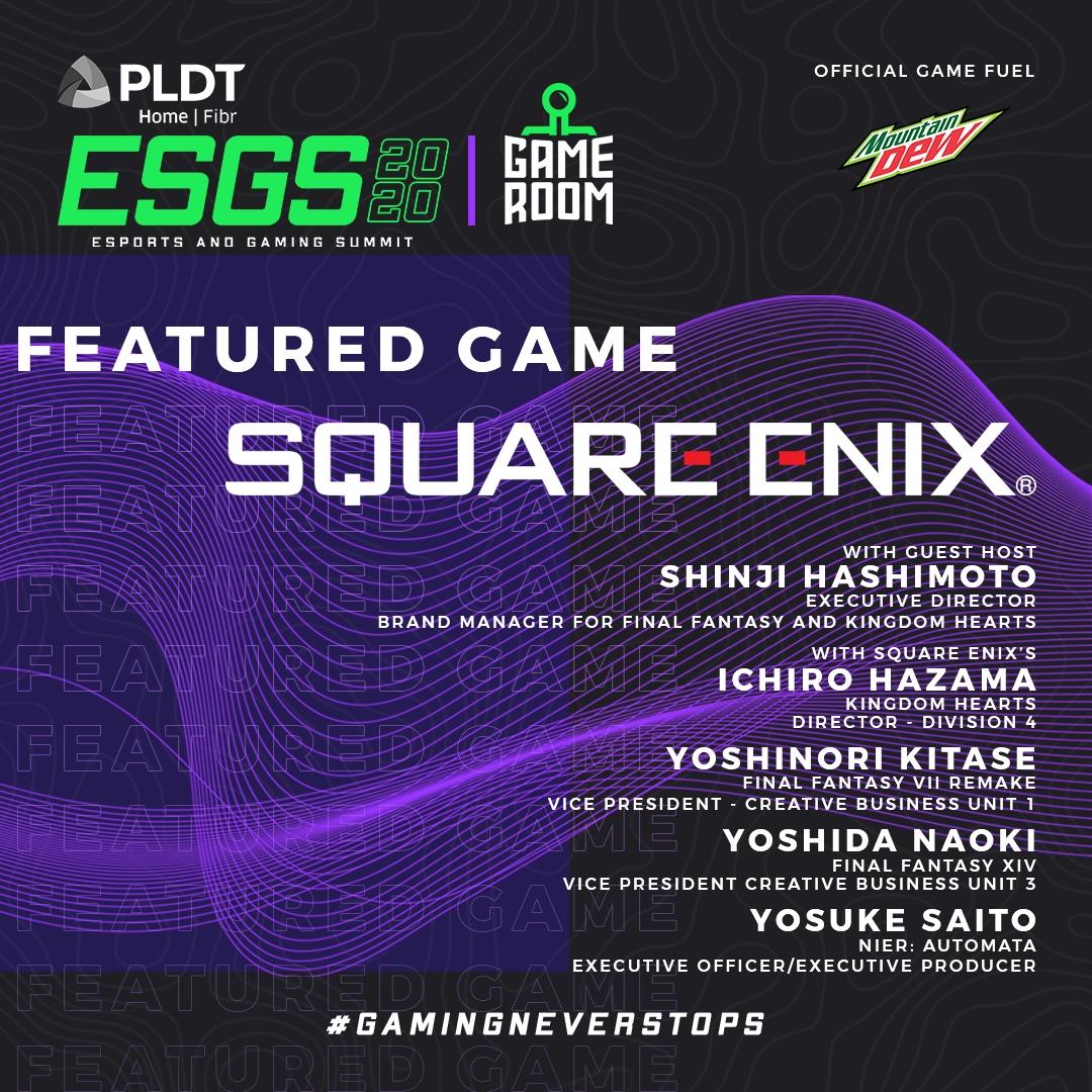 ESGS 2020 – Game Room