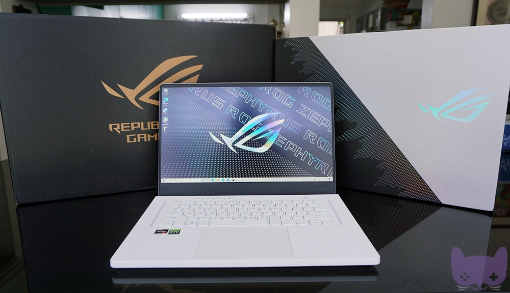 ASUS ROG Zephyrus G15  – Packaging & Features