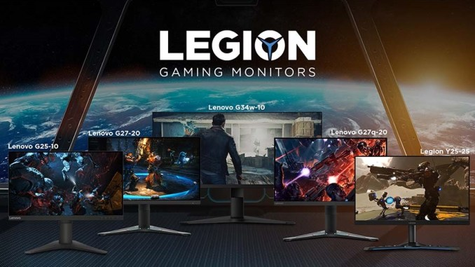 Lenovo Legion Unveils Five New Value-For-Money Gaming Monitors