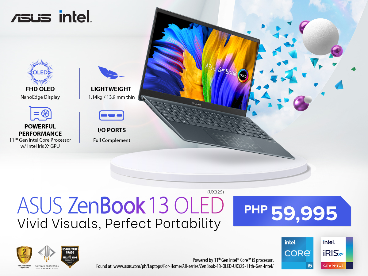 ASUS ZenBook 13 OLED – Specs, Price, Availability, & Features