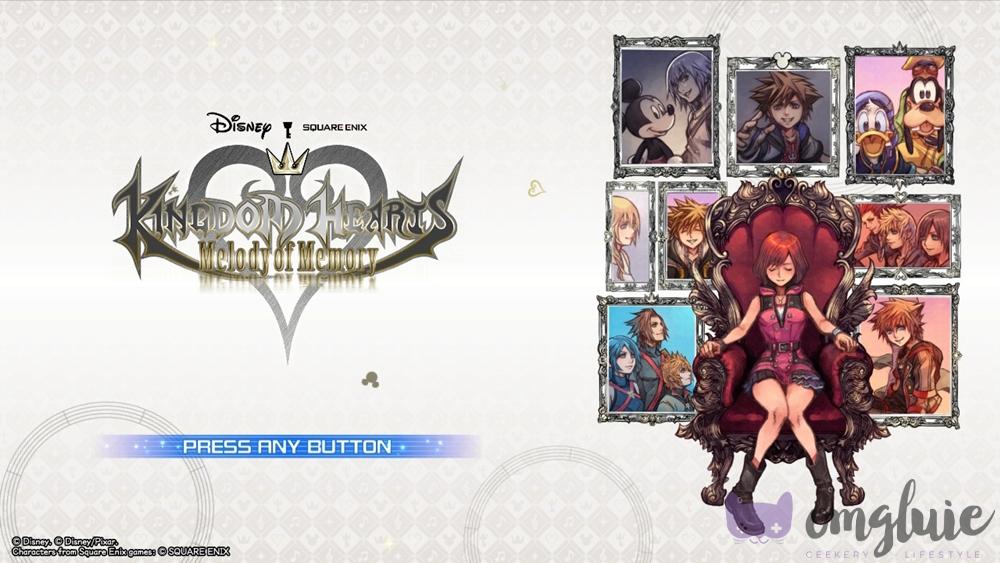 Kingdom Hearts Melody of Memory Story