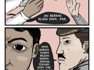 Comic: Percuma Lapor Polisi