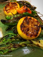 OMGs DFW Food - Grilled Skewers and Peppers 1
