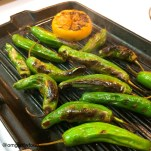 OMGs DFW Food - Grilled Skewers and Peppers 6