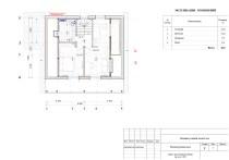 План второго этажа с расстановкой мебели