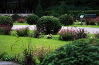 Парковое искусство Германии привело меня в неописуемый восторг))
