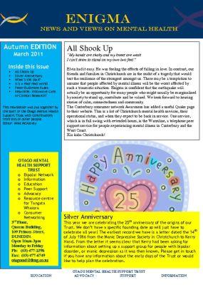thumbnail of Enigma Autumn 2011
