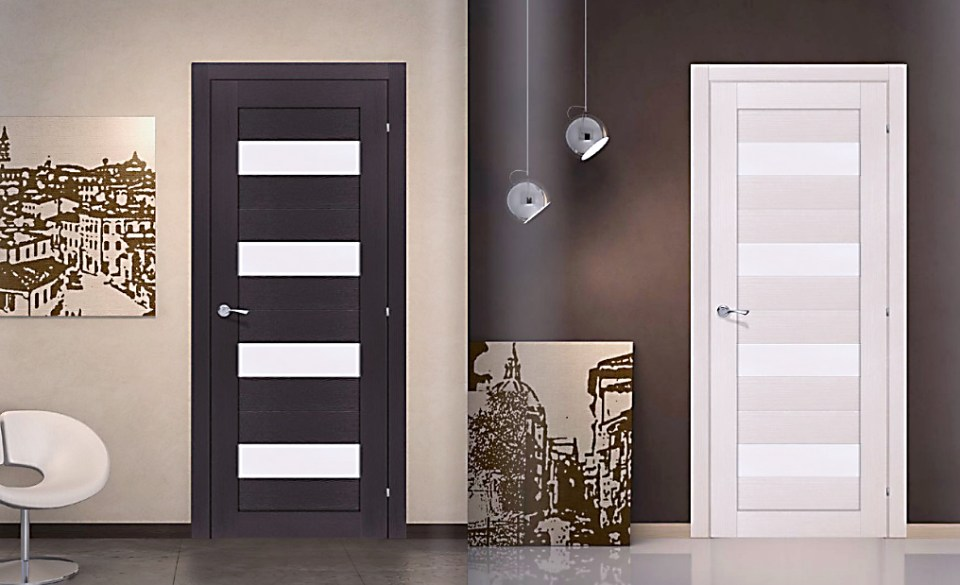Эксклюзивные полотна дверей Omic