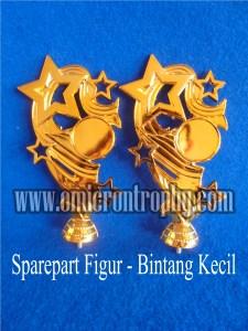 Distributor Bahan Piala Trophy Plastik - Figur Bintang Kecil