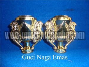 Jual Sparepart Trophy Piala Plastik Murah - Guci Naga Emas