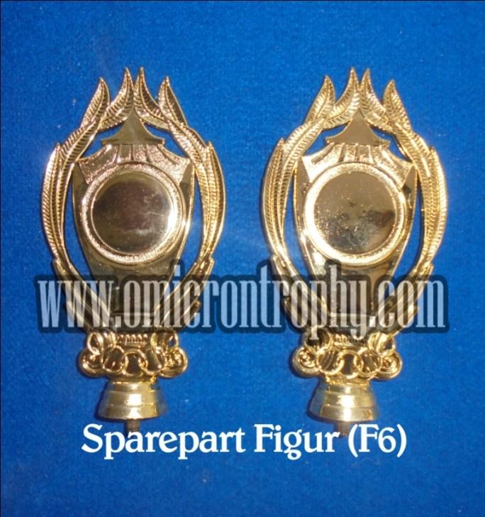 Pabrik Piala Sparepart Trophy Piala Plastik - Figur F6