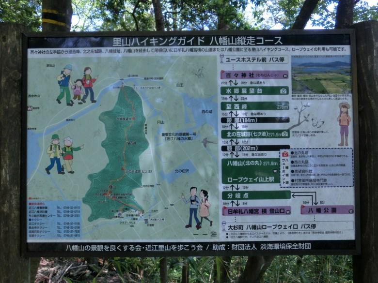 八幡山縦走コース