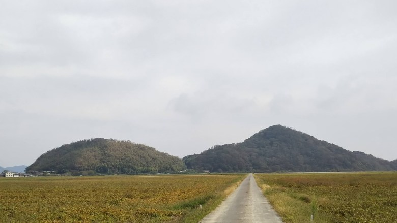 岡山と頭山