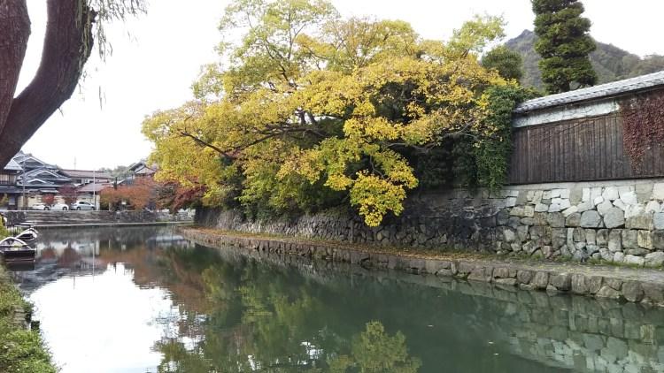 11月の八幡堀