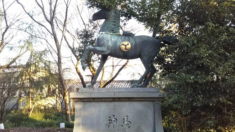 近江八幡市_馬像