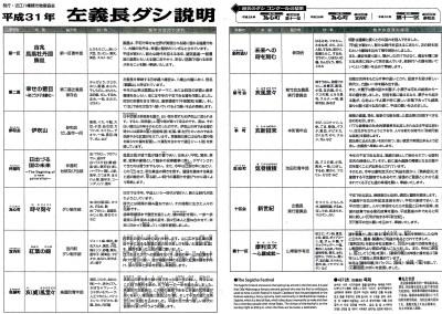 2019年左義長まつりダシ_近江八幡