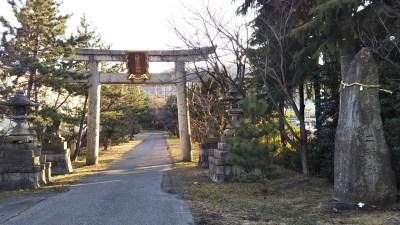長光寺入り口
