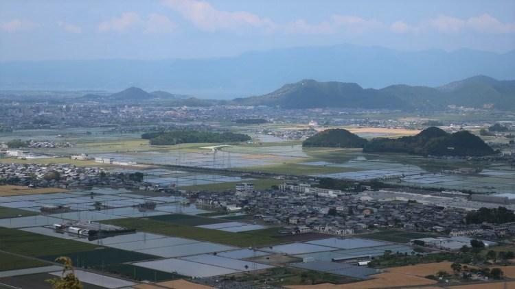 岩戸山十三仏_景色