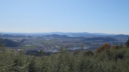 観音正寺からの景色