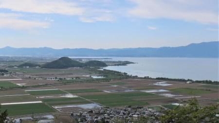 八幡山からの琵琶湖・びわ湖