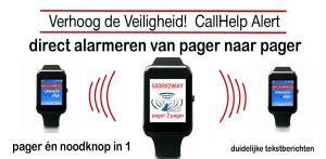 Alarmpager oproepontvanger