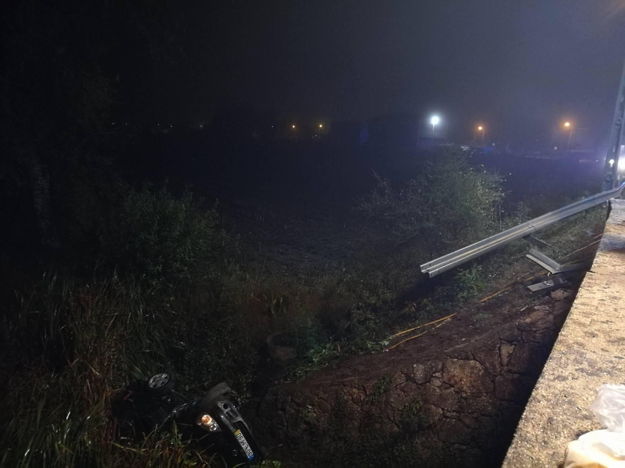 Dois jovens morrem em despiste em Vila Nova de Famalicão