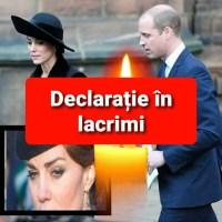 ULTIMA ORA! Prințul William, prima declarație după moartea lui Philip. Ce mesaj a transmis și Kate Middleton