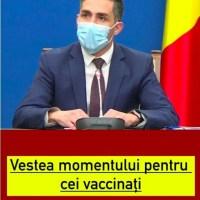 ULTIMA ORA! Vestea momentului pentru cei vaccinați. Valeriu Gheorghiță a dat detalii importante despre cea de-a treia doză împotriva COVID-19