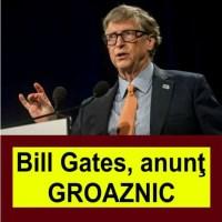 Bill Gates, anunțul momentului