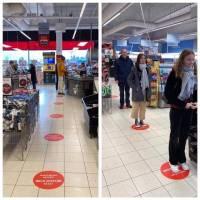 Intr-un supermarket din Danemarca