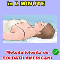 Cum să adormi în două minute: metoda folosită de soldații americani