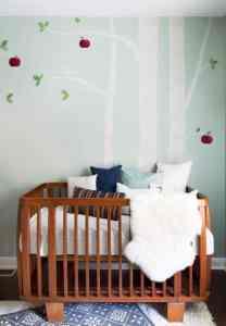 otroška soba ideje barva stene