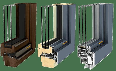 Na nakup oken ima največji vpliv ravno proizvodni material