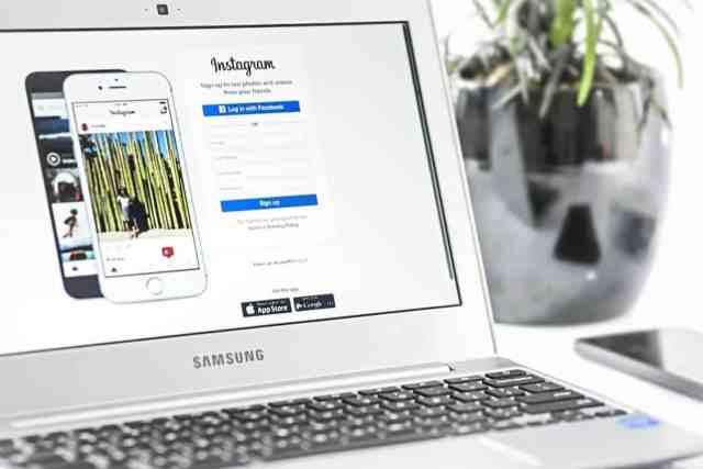 instagram oglaševanje - popularen Instagram profil