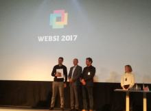 Platforma Omisli.si je prejela nagrado za najboljšo poslovno spletno stran v 2017 v Sloveniji!