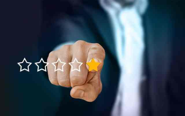 slaba spletna ocena - marketing za storitve