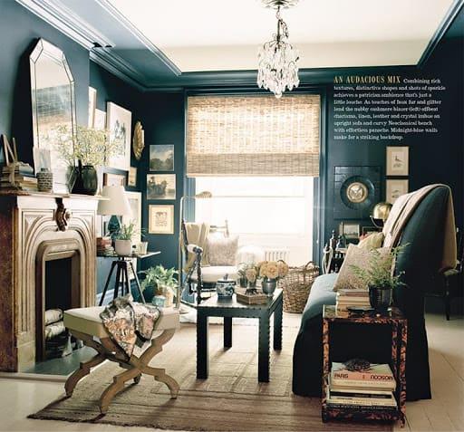 ideje za interier in notranje oblikovanje doma - eklektičen stil