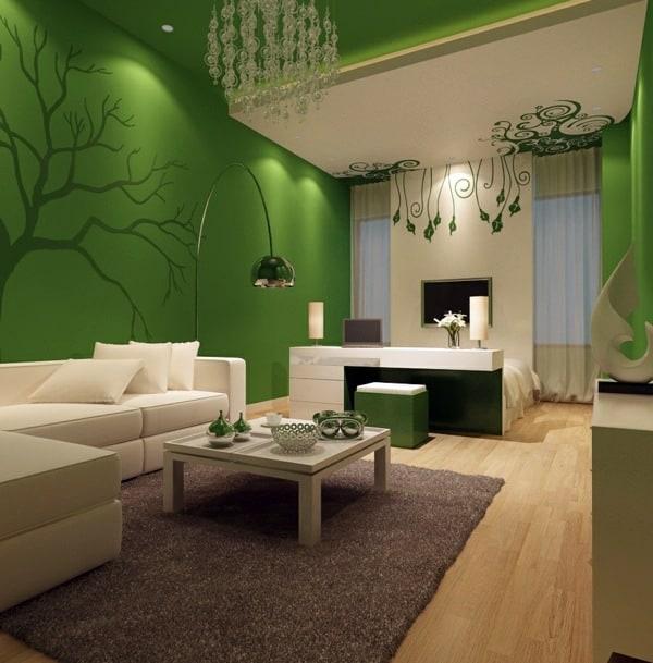 notranje-oblikovanje-uskladitev-dekorativnih-elementov-in-barve-sten