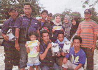 RK BC - Sampaikan undang Lomba di Tayu Pati